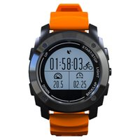 Wholesale Pressure Altimeter - Wholesale- S928 Smart Watch GPS Outdoor Sport SmartWatch Professional Heart Rate Monitor Air Pressure Altimeter Smart band For IOS Android