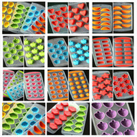 Wholesale Fruit Molds - Silicone Ice Moulds Fruit Ice Mould Penguins Heart Ice Mold Tray Ice-making Molds For Bar Kitchen Tools Accessories IB030