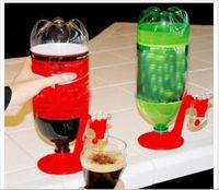 fizz drink dispenser großhandel-Mini Upside Down Trinkbrunnen Fizz Saver Cola Soda Getränkeschalter Trinker Handdruck Wasserspender Automatik