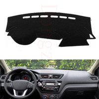 Wholesale Car Dash Pads - Wholesale- Dongzhen Car Dashboard Cover Avoid Light Pad Instrument Platform Dash Board Cover Fit For Kia K2 car styling