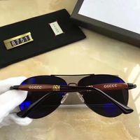 Wholesale European Sunglasses Brands - European Style Fashion Toad Shape Sunglasses Men Designer Travel Driving Sunglasses Luxury Brand High Quality Shade Glasses with box
