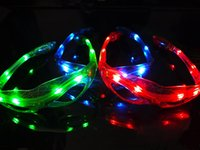 Wholesale Party Glasses Spiderman - Spiderman LED Light Flashing Glasses Gift Christmas Halloween Days Gift Novelty LED Glasses Led Rave Toy Party Glasses wa3987