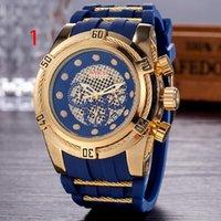 Wholesale Green Venom - Famous Brand Mens Luxury Watch 6 Pointer Chronograph Watches Replica Reserve Venom Quartz Watches All Function Work