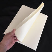 Wholesale stationery size resale online - ivory color anti counterfeiting paper cotton linen paper A4 size high quality sheets l170702_l