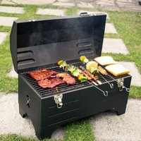 Wholesale Camp Ovens - Portable carbon oven & outdoor barbecue pits & household BBQ grill charcoal