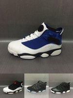 Wholesale Mens High Black Boots Fashion - Fashion Air Retro 6 for mens Basketball Shoes six rings black white retro 6s high quality sports shoes sneakers eur 40-45 free shiping