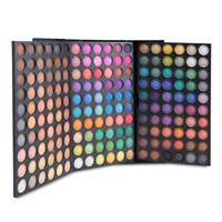 Wholesale eye shadow colours - Wholesale-180 Colors Tender 3 layer colour makeup plate Eyeshadow Palette Comestic Eye Shadow Set Kit free shipping