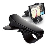 ingrosso porta lg-Supporto universale per supporto da auto Simulazione di design Supporto per telefono per auto Supporto regolabile per telefono per cruscotto per iPhone X 8 Samsung HTC LG con scatola