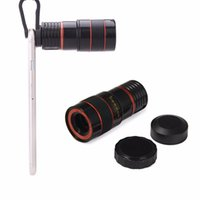 Wholesale Cellphone Camera Lens Clip Kit ONEVER Universal Optical Zoom Lens X Zoom Manual Focus Removable Telescope Clip on Camera Telephoto Lens for