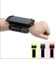Wholesale Universal Sports Armband Case Cover - Universal Wrist Band Case for iPhone 7 6s Plus Running Sport Cover Holder for Samsung S7 edge s8 s8 plus Cycling bumper