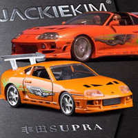 Wholesale Toy Super Miniatures - 1:32 The Fast and Furious SUPER Car Model Metal Alloy Diecasts & Toy Vehicles Model Miniature Scale Model Toy Car Toys for Gift
