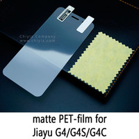 Wholesale Screen Protector Jiayu - Glossy Frosted Matte Anti glare Tempered Glass Protective Film Screen Protector For Jiayu G4 G4S G4C G5 G5S G5C Jiayu G6 G6S G6C S2 S2S S2C