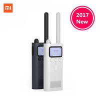 All'ingrosso- In magazzino, originale Xiaomi Mijia Smart Walkie Talkie con altoparlante radio FM Standby Smart Phone APP posizione Share Fast Team Talk