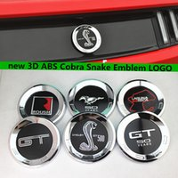 Ford GT 50th Years Rear Emblem Sticker 150MM Para Mustang GT Cobra 50 Aniversário Chrome ABS Logotipo Car Trunk Badge Decal