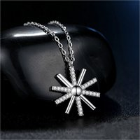 Wholesale Generations Necklace - Factory direct 925 sterling silver pendants Japan and South Korea simple personality temperament wild fresh flowers necklace a generation of
