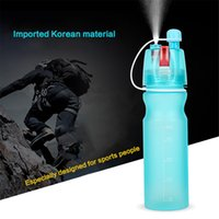 Wholesale Portable Sports Spray Water Bottle Water Bottle Outdoor Sport Kettle ml Frosted