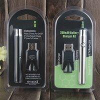 Wholesale Battery Pack Mah - Preheating Blister Pack Battery 510 Thread 280 mAh Fast Heating Bud Battery With USB For CE3 Cartridge Vape High Quality