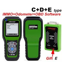 Wholesale Odometer Diagnostic Tool Ford - 2017 OBDSTAR X100 PROS C + D + E model Key Programmer EEPROM adapter IMMO Odometer OBD EEPROM Best Seller Year 2017 Diagnostic Tools New