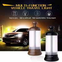 Wholesale 2017 New Design Vehicle Travel Light three color Travel Agency light with multi function Car Camping lights