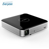 Wholesale S3 Mini 3d - Wholesale-Support 4K coolux S3 Shutter Active 3D projector mini portable dlp Android projector FULL HD home theater Tv cinema for business