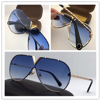 Wholesale Best Brand Sunglasses Men - Best-selling style L0898 pilots frameless frame exquisite handmade top quality designer brand sunglasses anti-UV protection Drive sunglasses