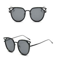 b6be6f58bd Nuevo diseñador de la marca Fashion Women gafas nuevas UV protección nuevas  gafas de sol Vintage gafas de sol Retro pc lentes para gafas gls222