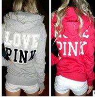 Wholesale Kpop Pullover - Love Pink Hoodie Women Casual Harajuku Hoodies Women Vs Pink Kpop Spring Moletom Feminino Polerones Mujer tracksuits clothing