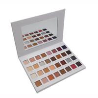 Wholesale lorac pro 32 palette online - Newest Mega PRO Lorac Color Eye Shadow Palette Blush Eyeshadow matte shimmer Makeup Cosmetic Palette