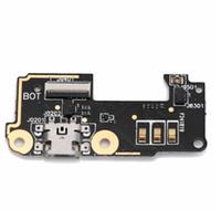 cable usb asus al por mayor-Nuevo Dock Connector Plug Data Transfer Mic Micrófono para Asus Zenfone 5 Lite A502CG USB Puerto de carga Flex Cable Replacement