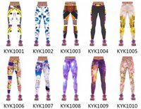 Wholesale Outdoor running sports pants fitness gymnastics fast dry pants optional women KYK1001