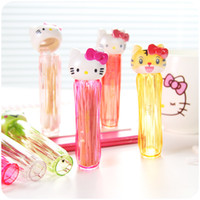 Wholesale Portable Toothpick Holder - Wholesale- 2pcs animal Kawaii Hello Kitty Mini Portable Toothpick Holder Cotton Toothpick Container Case Box Storage Kitchen Accessories