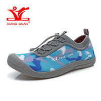 Wholesale Golf Sandals Men - Man Beach Shoes Sandals for Men Upstream Trainers Camouflage Loafers Summer Water Sports Boating Shoe 2017 trekking Outdoor Walking Sneakers