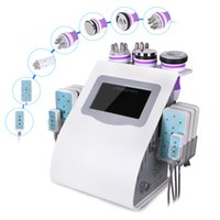 Wholesale Cavitation Pads - High Quality 40k Ultrasonic Liposuction Cavitation 8 Pads Lllt Lipo Laser Slimming Machine Vacuum Rf Skin Care Salon Spa Use Equipment