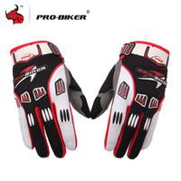nylon motorrad handschuhe großhandel-Breathable Motocross Handschuhe Rutschfeste Guantes Luva Moto Racing Handschuhe Motorrad Motocross Wear Handschuhe
