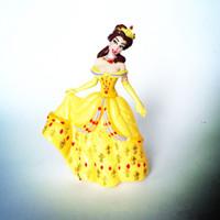 Wholesale Ariel Little Mermaid Doll - cinderella figure set snow white doll the little mermaid pvc figures Princess Ariel Belle Cartoon PVC Action Figure Toy DHL free shipping