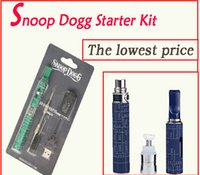 Wholesale E Cigarette Single Pack - Snoop Dogg Starter Kit Blister Pack E Cigarettes Vaporizer kits snoop dog Atomizer for Dry Herb wax