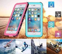 Wholesale iphone case life - DHL freeship For iphone 7 Waterproof Case 6.6ft Underwater ip68 Durable life water Shock Dust proof Full Body Protection Cover for iPhone7