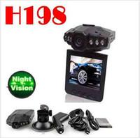 Wholesale Car Cameras Record Road - 2.4 Inch Car Camera DVR Car Dvr 270 Degrees Whirl Dash Cam LED IR Light Vehicle Road Dash Video Recorder Black cameras
