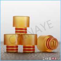 Wholesale Dhl Free E Cigarette Products - Vaping 510 drip tips for e-cigarettes atomizer new arrival products 2017 PEI mouthpieces of DHL free shipping
