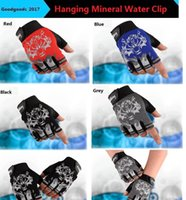 Wholesale Mysterious Box - Wolf head half finger riding gloves movement outdoor men fashion mysterious gloves non-slip outdoor climbing dance special gloves M082