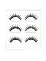 Wholesale Show Strip - Hot Selling 3D Kylie False Eyelashes 3 Pairs Handmade False Eyelashes Kit Synthetic Eyelashes XH-12 Show on Love Story Party Or Daily life