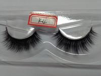 Wholesale Wholesale Eyelashes Good Quality - Good Price High Quality 3D Natural Bushy Cross False Fake Eyelashes Mink Hair Handmade Eye Lashes 10PAIRS LOT