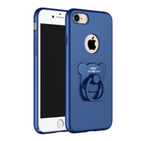 Wholesale Clip Water Holder - Hot sell iphone 6 7 bear Ring holder cell phone cases stand case With discount price and Retail Box for apple
