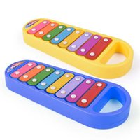 Wholesale Percussion Music Instruments - 2017 new hot Children puzzle music piano infant early childhood percussion instrument toy wholesale free shipping