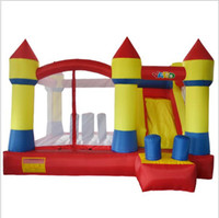 Wholesale bouncy slides - Yard Best Quality Bouncy Castle Bounce House With Slide Inflatable Toys For Kids Jumping Inflatable Toys Obstacle Course