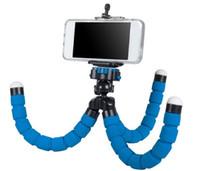Wholesale Monopod Stabilizer - HOT Flexible Tripod Holder For cellphone ,Camera Gopro,ipad Universal Mini Octopus Sponge Stand Bracket Selfie Monopod Mount With Clip