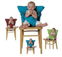 correas para asientos infantiles al por mayor-Asientos para sacos de bebé Correa de hombro para silla alta portátil Correa de seguridad para bebés Cinturón de seguridad para asiento de asiento para niños Arnés para comedor Correa de asiento