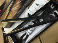 "Wholesale Cheapest Straightener - Wholesale Cheapest Hot Iron Classical Ceramic Hairstyling Iron Pro 1"" Ceramic Ionic Tourmaline Flat Iron Hair Straightener with Retail Box"
