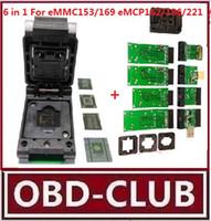 Wholesale Flip Key Audi - Phone data recovery SD HDMI UFI easy-JTAG Connect for BGA153 BGA169 BGA162 BGA186 BGA221 BGA529 Flip shrapnel IC test adapter