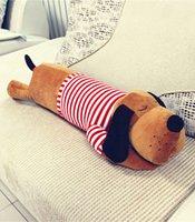 Wholesale Large Doll Heads - Big head dog doll sleeping pillow plush toy Large child cartoon birthday gift dolls cloth doll